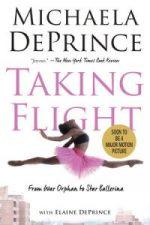 soaring ballerina on cover of Taking Flight