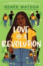 cover of Love is a Revolution showing Nala and smaller drawings of Nala & Tye
