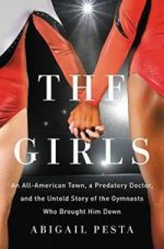 cover of the Girls focuses on two gymnasts holding hands