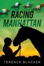 horses & jockeys on the cover of Racing Manhattan
