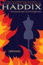 cover of Uprising showing flames around a dress form